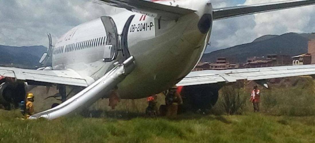 Suspenden Vuelos En Aeropuerto De Cusco Peru Tras Salirse De La Pista Un Boeing 737 Aviacion Al Dia Noticias De Aviacion